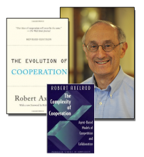Robert Axelrod and his two foundation-laying great books